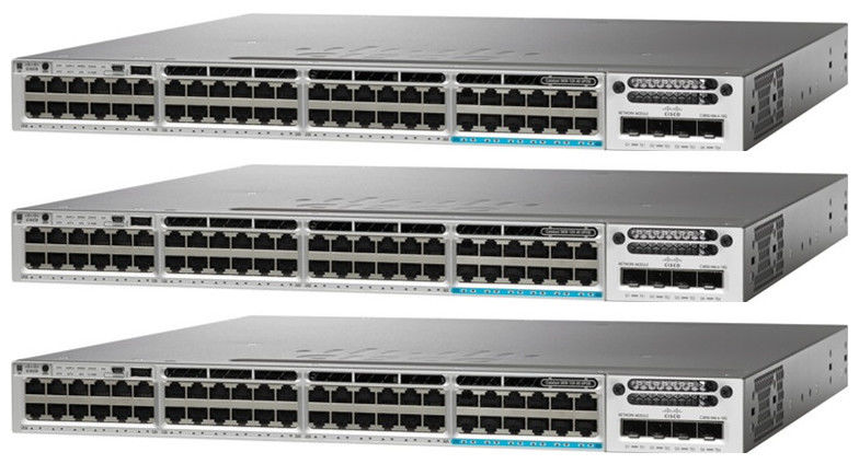 Enterprise Cisco Gigabit Lan Switch 48 Port Catalyst 3850 WS-C3850-48F-E